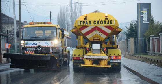 Последна информација од АМСМ  На овие патишта има забрана за камиони