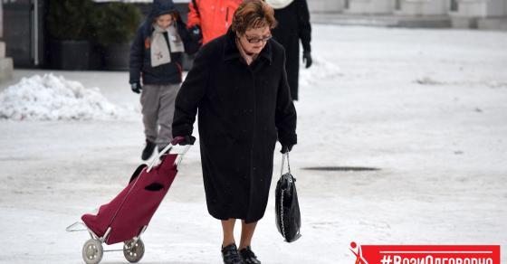 Не одете по  скратени патчиња    совети за безбедност на пешаците на мразот