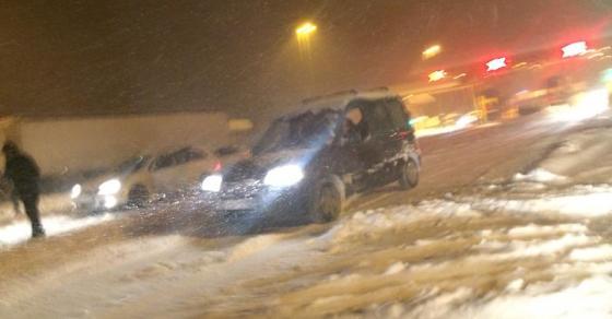 Еве каде вее снег во моментов   важни вести за оние кои патуваат низ Македонија