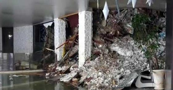 Страшни детали  Хотелот кој беше затрупан во Италија се поместил за 10 метри