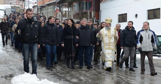 Претседателот Иванов на Водици во Велес
