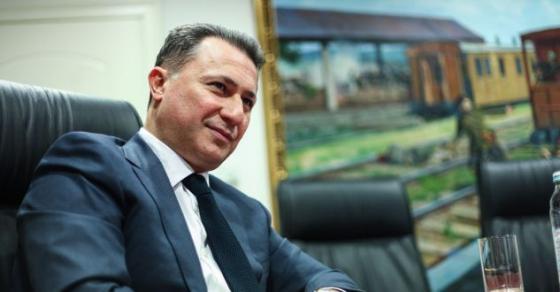 Груевски  Основната цел на целата операција е слабеење на државата со цел промена на името и идентитетот