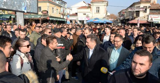 Груевски  Јас верувам во мојот народ и на крај ќе победи Македонија