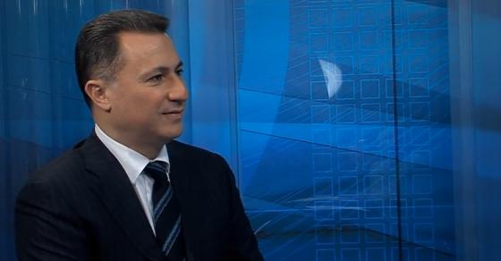 Никола Груевски гостин во Дневникот на Сител  Нападната е унитарноста на државата