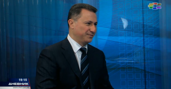 Груевски  Заев нека удри по мене  само нека ја остави државата
