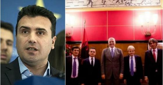 КУРИР  Заев договорил Србите да бидат обвинети за геноцид