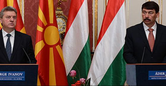 Иванов со благодарност до Унгарија за иницијативата да се осуди Тиранската платформа