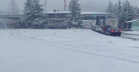 Деве Баир во бело   еве каде вееше снег