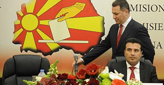 ДУИ  Груевски и ЗАев одржаа неколку лидерски средби