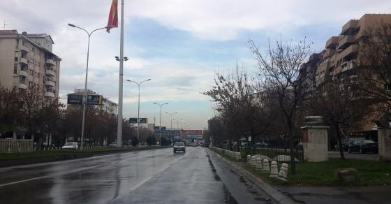 Измени во сообраќајот на една од најраздвижените улици во Скопје