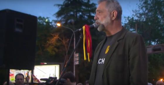 Дамовски  Нема да се откажеме од нашите барања  а тоа се нови избори легитимитетот е на народот и тој ќе решава во оваа држава