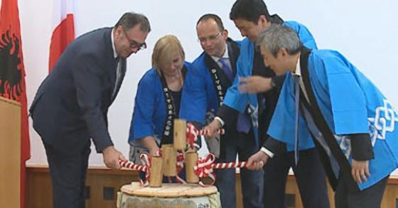 Јапонија отвори амбасада во Тирана