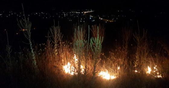 Пожар беснее во скопско Ѓорче