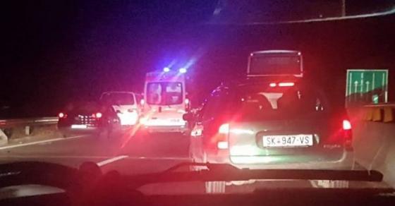 Повредени 25 лица во превртениот автобус кај Велес   меѓу нив и 6 годишно девојче