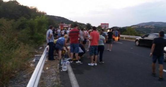 По вчерашната несреќата кај Велес  се огласи и туристичката агенција и повикаа на молитва за повредените