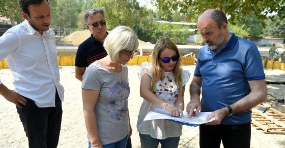 Се гради новиот Луна Парк во Скопје