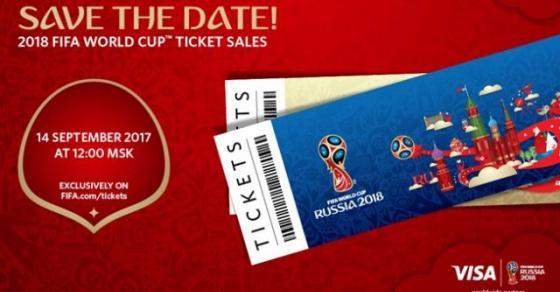 Билетите за Мундијалот во Русија од 80 до 1000 евра