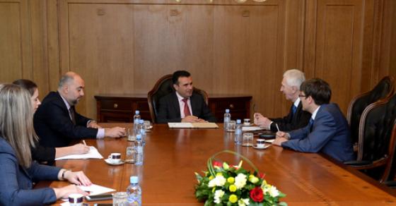 Средба Заев Шчербак  Евроатлантските аспирации не с епречка за соработка со Русија