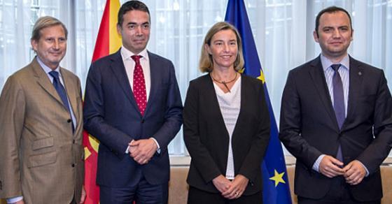 Османи и Димитров во Брисел ќе реферираат за напредокот на Македонија