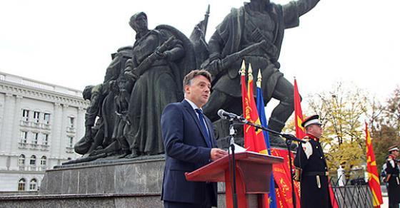 Шилегов  Одлучно и принципиелно кон решавање на проблемите од  Скопје 2014