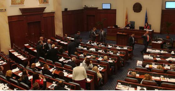 Пратениците напладне ќе гласаат за Законот за јазиците