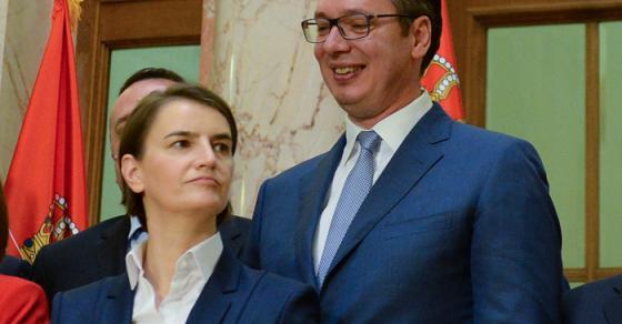 Испливаа фотографии  Како изгледале Ана Брнабиќ и Александар Вучиќ во младоста