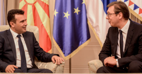 Средба Заев Вучиќ  Македонија во Србија има искрен пријател