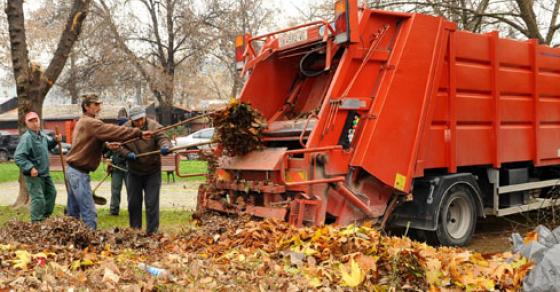 Почна големата акција за чистење на Скопје