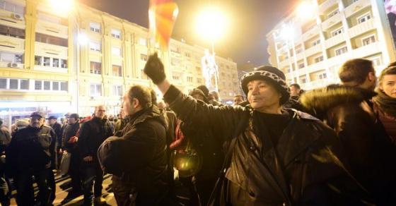 ВМРО ДПМНЕ  Остануваме на улиците додека хунтата ги гази законите   блокада на крстосници и протест во 18 часот