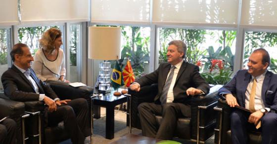 Иванов во Бразил   прва резидентна македонска Амбасада во Латинска Америка