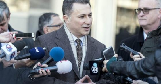 Груевски  По три четри пати неделно сме на Суд   власта врши политички прогон