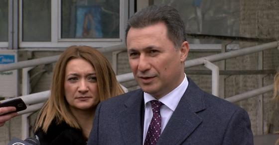 Груевски  По Конгресот партијата да се обедини и да се врати на власт