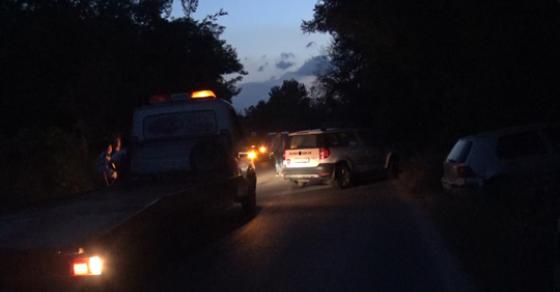 Сообраќајка попладнево во Македонија   сообраќајот на регионалниот пат во прекин