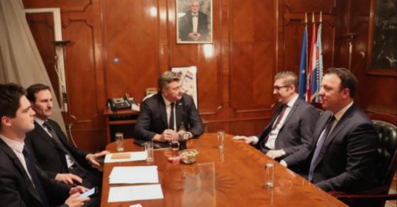Мицкоски  На средбите ги информирав моите соговорници за политичкиот терор кој владее во Македонија