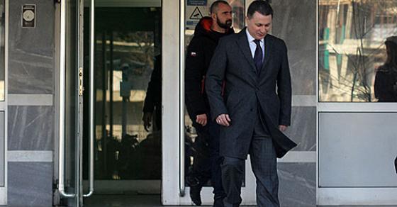 Груевски  Во судот треба да ми дадат канцеларија и плата