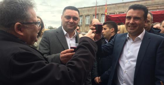 Премиерот Заев во посета на Тиквешијата по повод празникот Свети Трифун