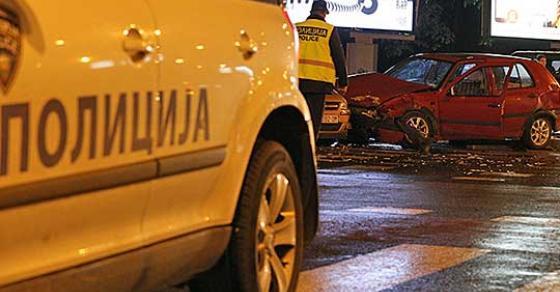 Едно лице тешко повредено а уште 11 полесно во сообраќајќи во Скопје