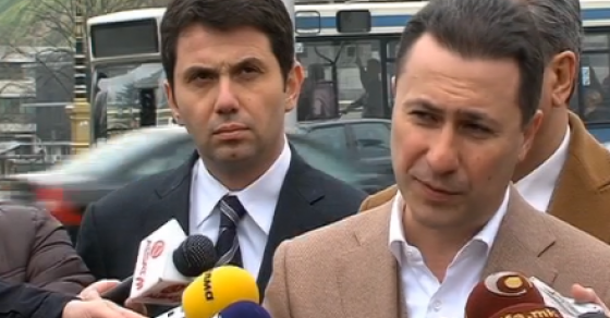 Груевски  Судењата се театар на апсурдот