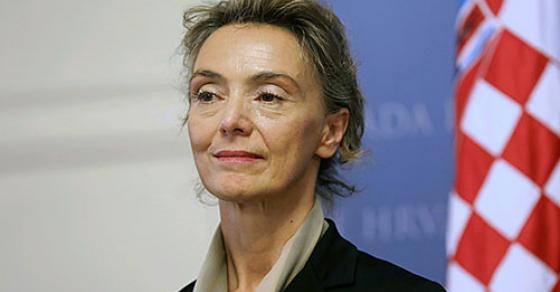 Шефицата на хрватската дипломатија на средба со државниот врв