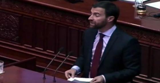 Димовски  Џафери со свој потпис потврди дека може да се поднесуваат амандмани