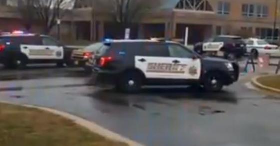 Пукање во училиште во Мериленд   сите улици затворени