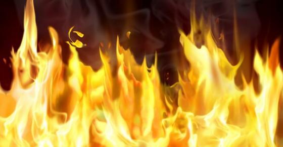 После неколку часа борба со пламените јазли  изгаснат пожарот во Тетово