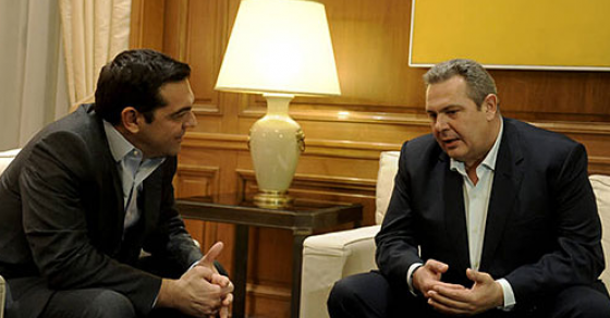 Ципрас и Каменос разговарале за спорот со името