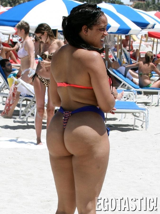 Pantyhose pussy huge ass bikini